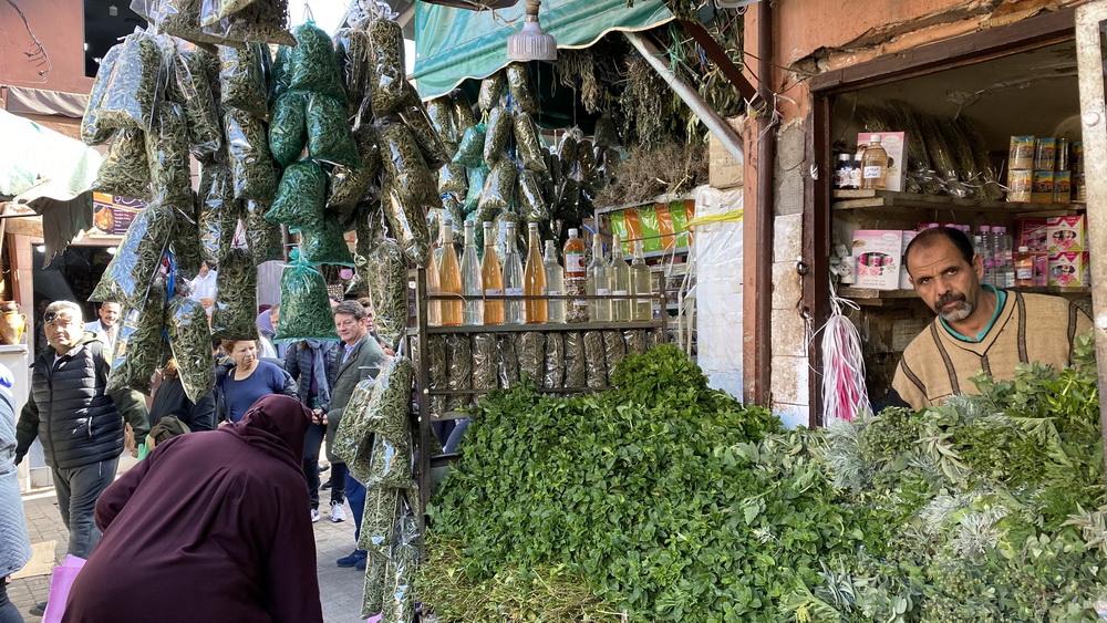 Gewürze Medina Marokko Triptramper