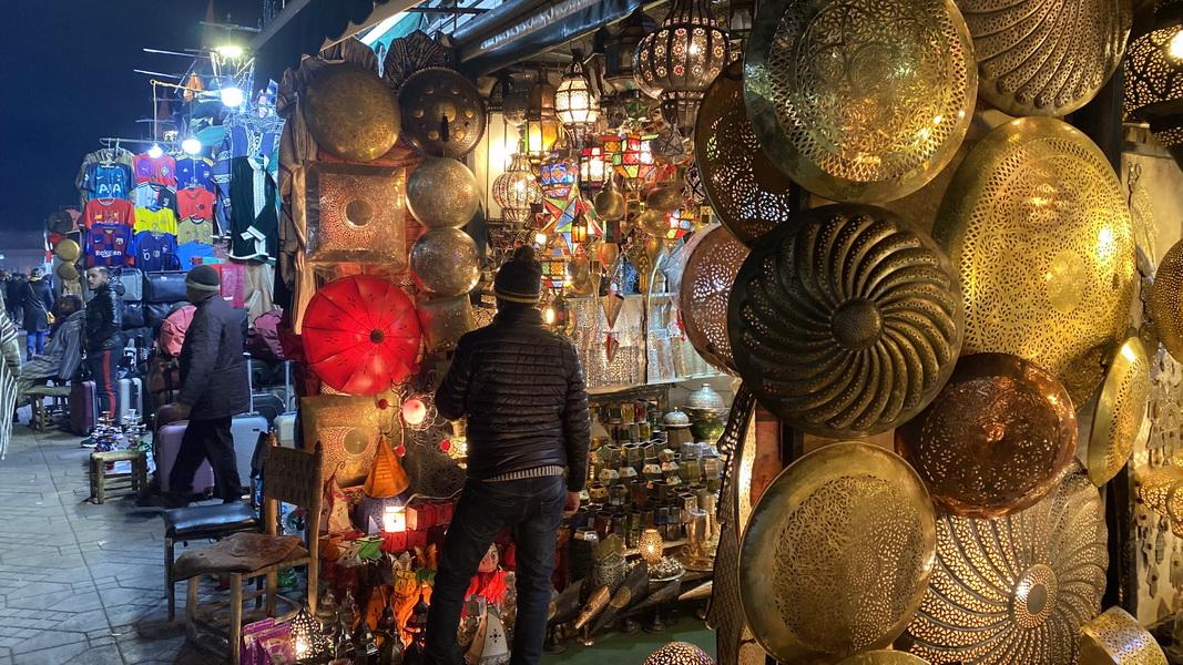 Lampen Medina Marokko Triptramper