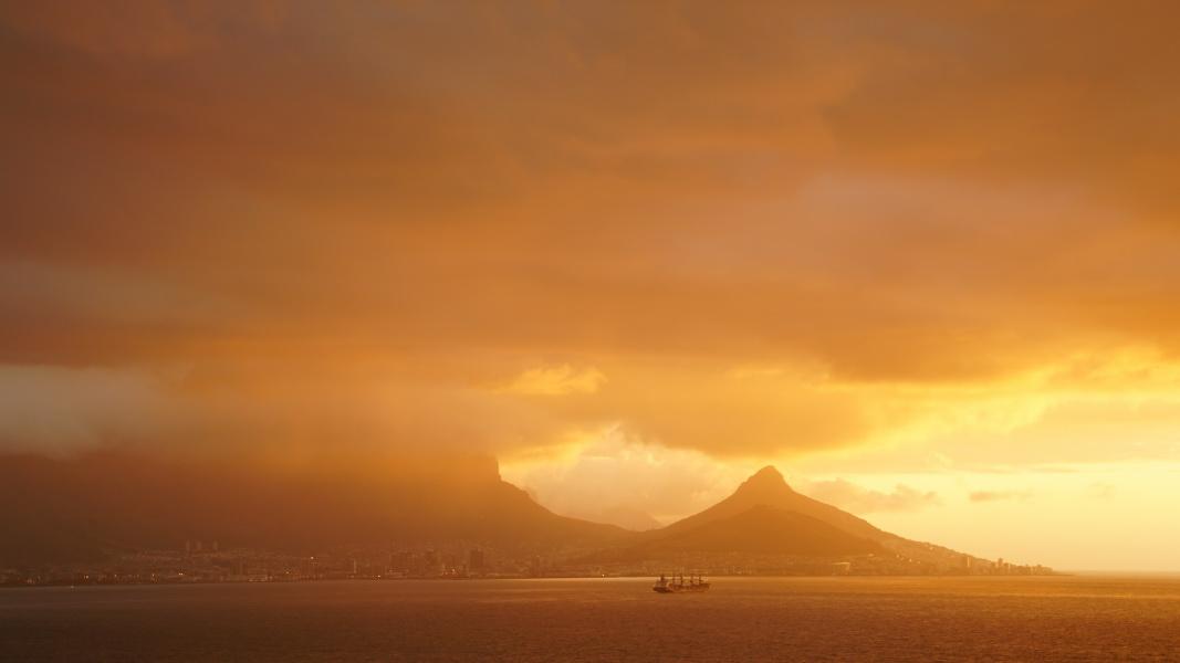 Bloubergstrand Kapstadt